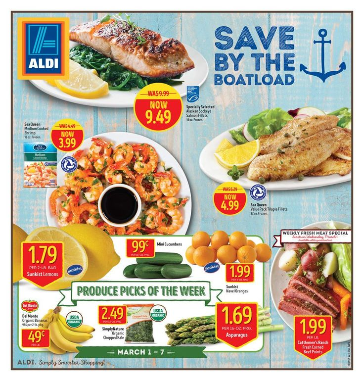 ALDI USA Weekly Ad Circular Mar 1 - 7 United States #grocery #food #Aldi