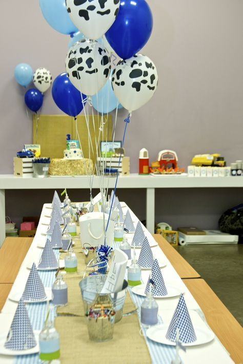 Little blue truck party ideas; little blue truck party theme