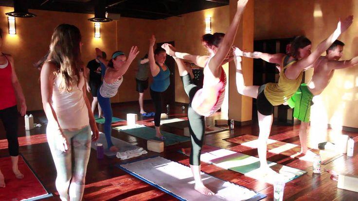 Elisabeth's Power Vinyasa Yoga Class