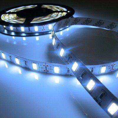 5M White SMD 5630 300 LED Flexible Light Strip Led Lamp 12V Brighter than 5050
