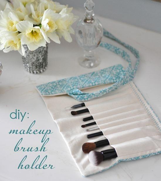 DIY Tutorial: DIY mother's day gifts / DIY Makeup Brush Holder - Bead&Cord