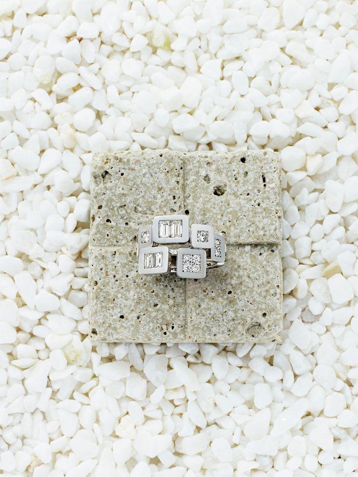 IMAI kuniko KYOTO   Pave  石畳  ---#Ring #Jewelry