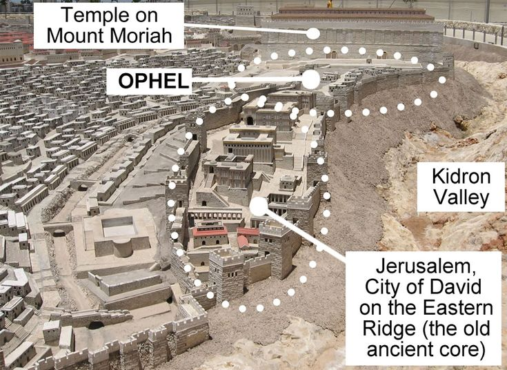 "11. Ophel - Jerusalem: Ophel's wall and elevated position over the Kidron Valley gave it a strong defensive position. Nevertheless, Isaiah prophesied that ""Ophel,"" apparently that of Jerusalem, would become a 'bare field.' Isaiah 32:14 - compare Micah 4:8."