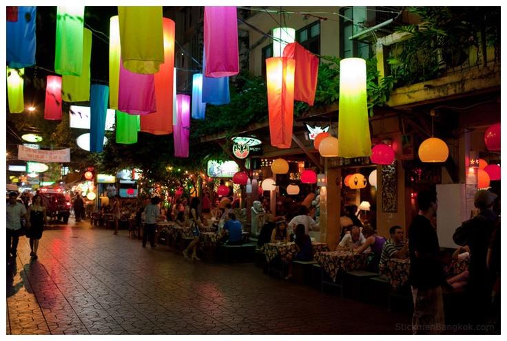 a great way to spend the night after a long tiring tour around bangkok :)