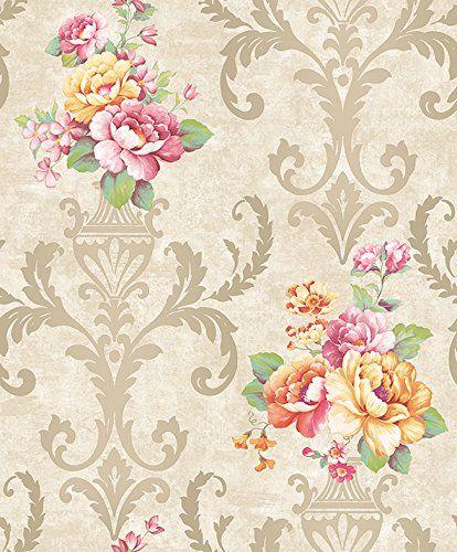 The 25 best Vintage flowers wallpaper ideas on Pinterest Flower