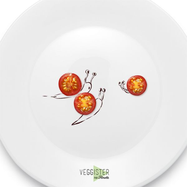 Qui prend son temps pour manger, savoure davantage son dîner #Dicton #Veggister #FoodArt