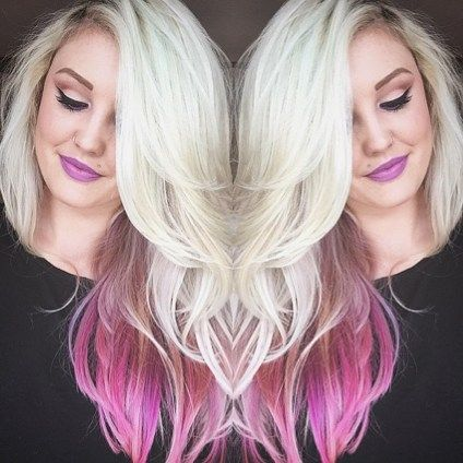 We are very very #happy that @kthrnsarahd is a #ManicPanic #DyeHard because…
