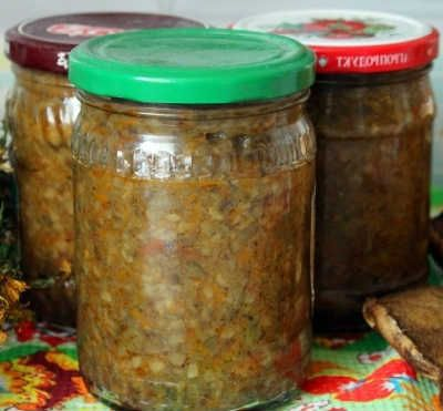Баклажаны под грибы закуска_рецепт