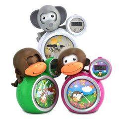 BabyZoo Sleep Trainer Clock - Momo the Monkey | Crayons