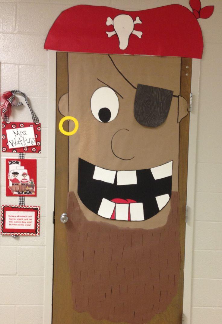Pirate entrance door