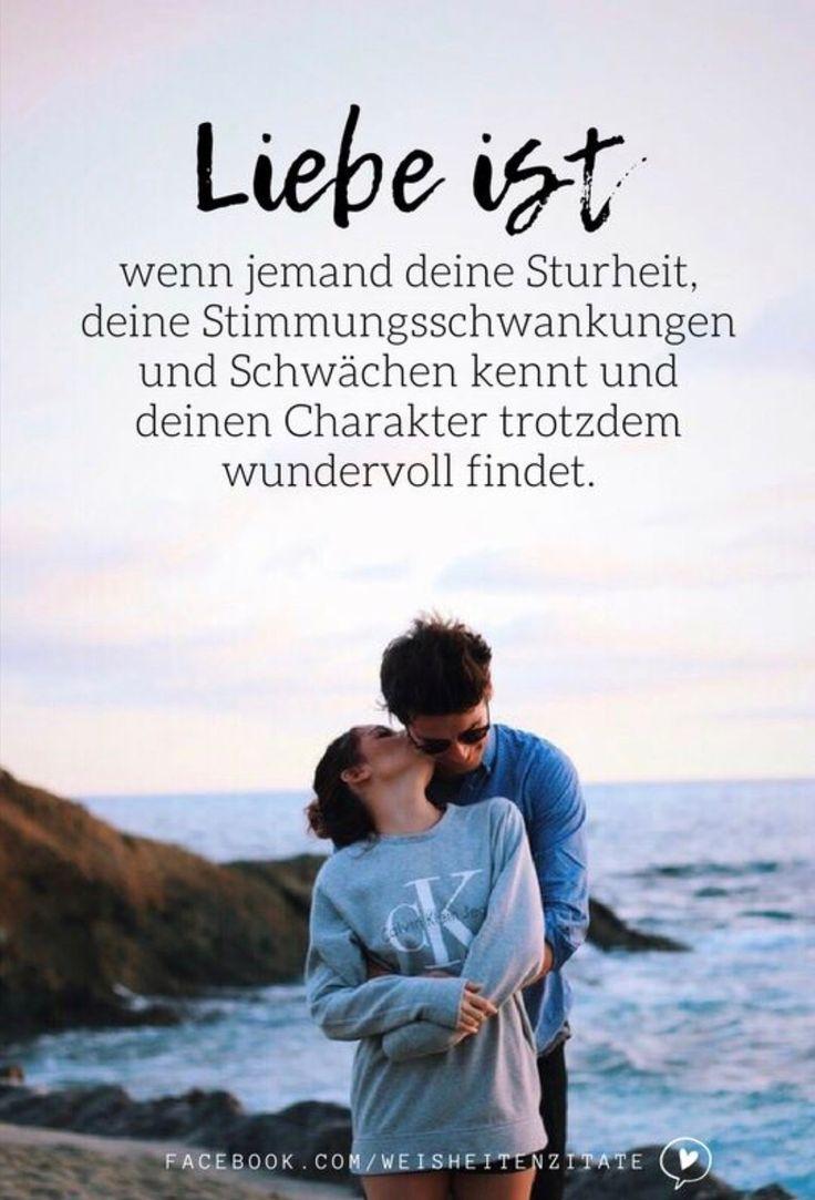 Liebe ist  - ♥ Sprüche & Weisheiten ♥ - #ist #Liebe #