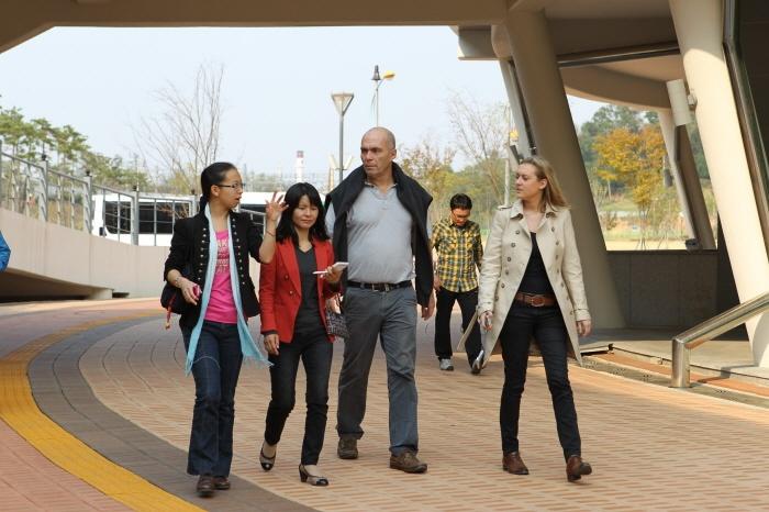 FISU inspection visit