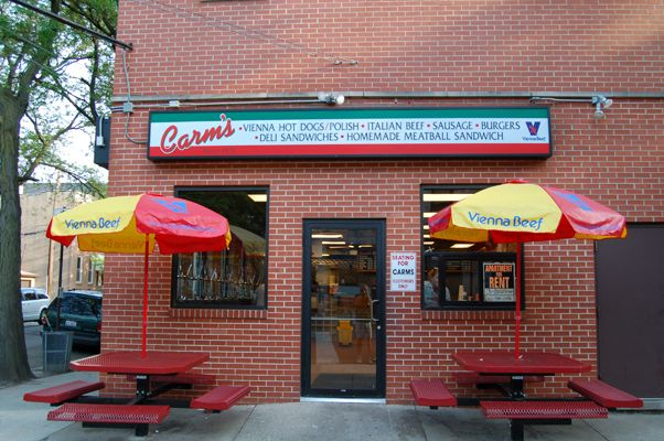 Carm's Beef and Italian Ice in The heart of Chicago's Little Italy since 1929