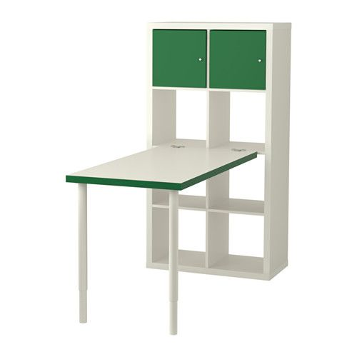 KALLAX Workstation IKEA Choose whether you want to place it vertically or horizontally to use it as a shelf or sideboard.