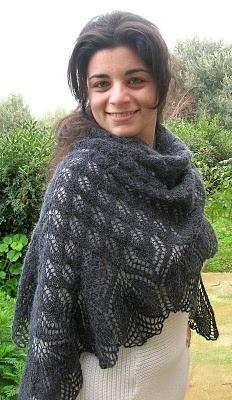 IL FILO CHE CREA: Un meraviglioso scialle a maglia! spiegazioni in italiano