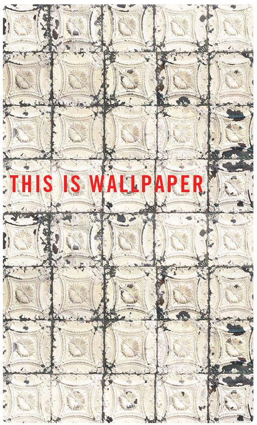 wallpaper tin ceiling - I really want this.  I'm not sure where yet, but I really want it.