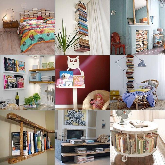 Waarom zetten we boeken eigenlijk altijd in de boekenkast? Welke.nl zocht 9 andere manieren om jouw boeken origineel op te bergen. Kijk snel of er een leuk idee voor jouw interieur bij zit!