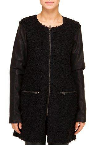 Boucle jakke fra Modstrøm