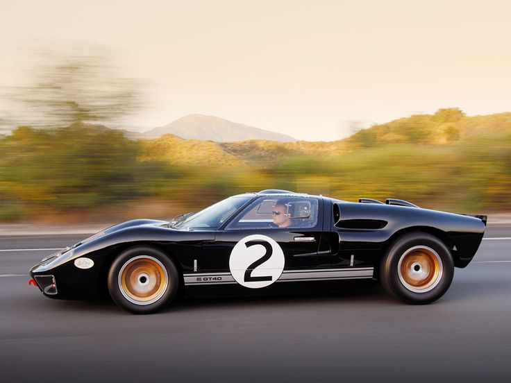 shelby cars | 2008 Shelby 85th Commemorative GT40 side view