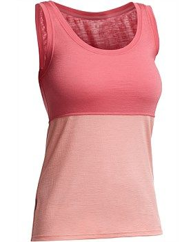The Icebreaker Tech Lite Tank is essential for your summer adventures. This versatile tank top is made from lightweight 150gm merino so it breathes well, keeps you cool in hot weather and warm in cold weather and can be worn day after day without odour. With a feminine scoop neck and contrasting seams, the Icebreaker Tech Lite Tank it looks as great as it feels. Buy Now http://www.outsidesports.co.nz/Icebreaker/Womens_Icebreaker/Tops/IB102256/Icebreaker-Tech-Lite-Tank-Top.html#.Vg3rkfmqpBc