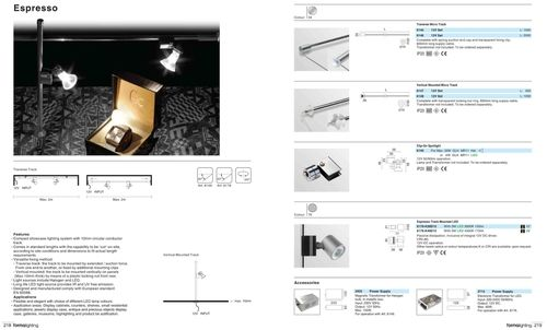 Cabinet and Display Lighting System_Lighting Solutions NZ_Forma Espresso Micro 12V Track