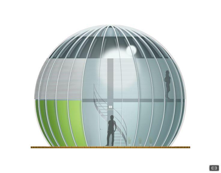 Sphere | conceptuele woning