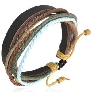 Leather Brown Mens or Womens Bracelet Anklet 502 AUD $5.99 Free Shipping available at Spoil Me Silly .Com for most Jewellery and craft beads Fantastic leather bracelets/anklets from Spoil ME Silly! Perfect for men or women of all ages! These gorgeous handmade bracelets are approximately 7 inches to a huge 10 inch in length. So you could wear them as a anklet as