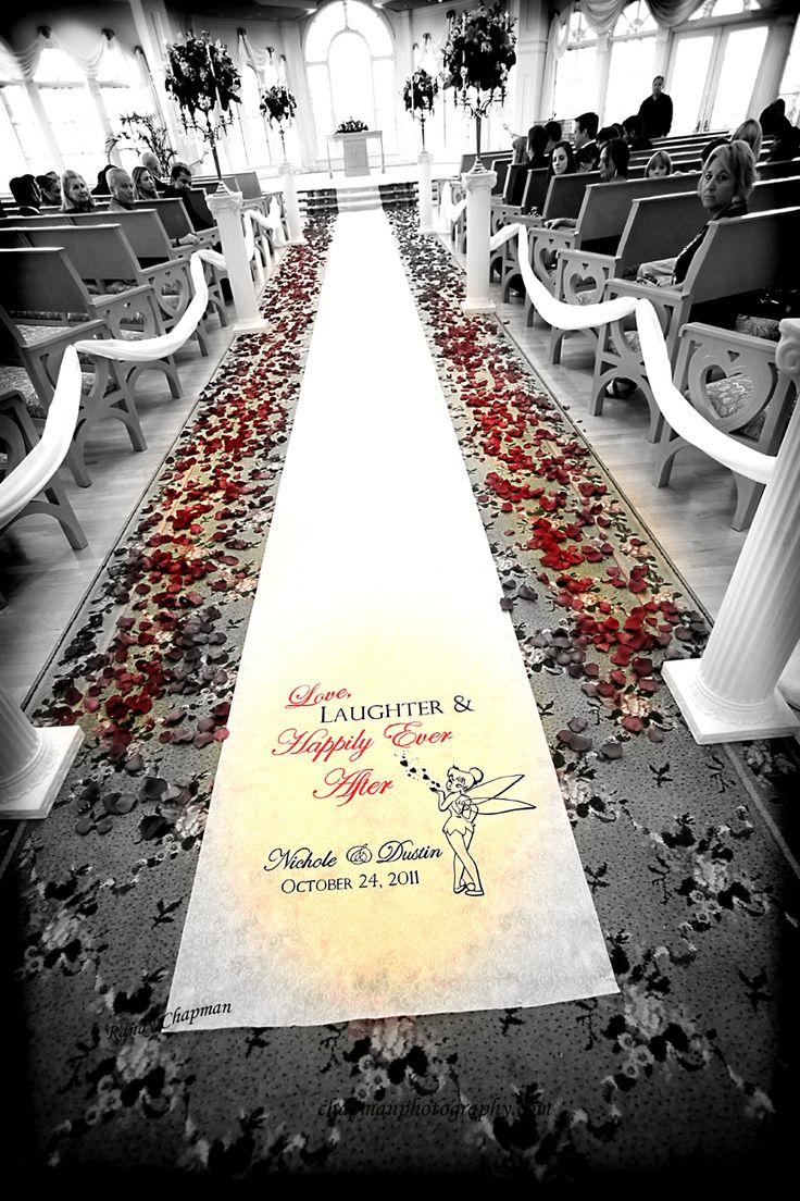 The Disney Wedding Blog: Walt Disney World Wedding: Nichole + Dustin. I would like something like this at my future wedding at Disneyland.