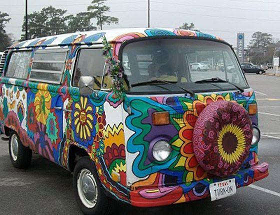 images  hippy van  pinterest  amazing volkswagen  cartoon
