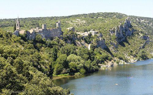 Aiguèze in the Ardèche