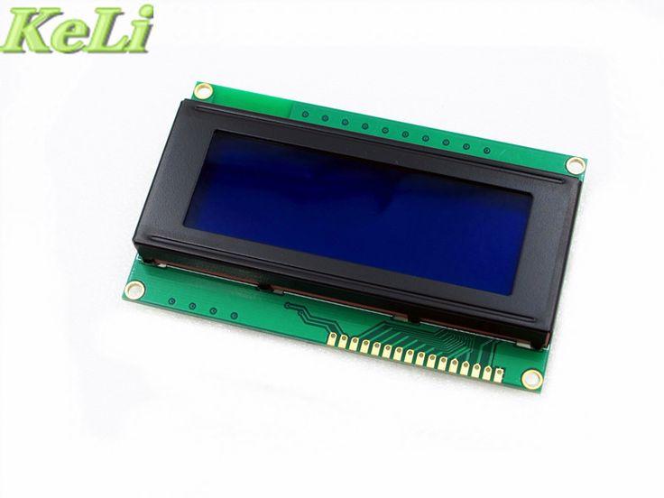 Novo 1 pçs/lote Board LCD 2004 20*4 20X4 LCD 5 V tela Azul blacklight exibição LCD2004 LCD módulo LCD 2004
