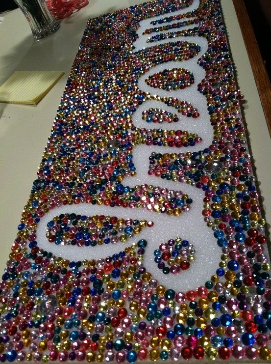 I just found something to do with all my mardi gras beads!!
