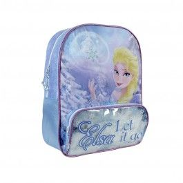 Mochila Escolar Frozen, Elsa Let it go