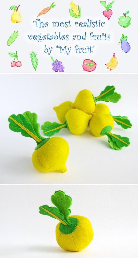 Best Felt Foods Vegetables Images On Pinterest Felt Play
