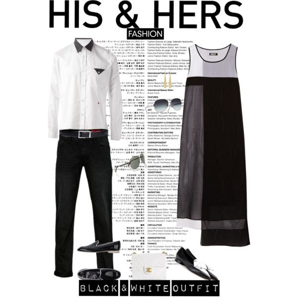 """In B&W Fashion Challenge..."" by unamiradaatuarmario on Polyvore"