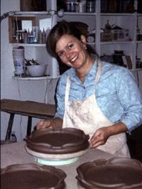 Joan Bruneau - Nova Terra Cotta Pottery - Lunenburg, Nova Scotia