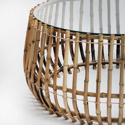 Mesa de Centro Hazel em Bambu | Balai - balai