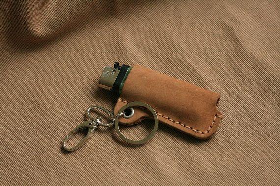 Leather Lighter Case, Bic lighter case, Bic case, Bic ...