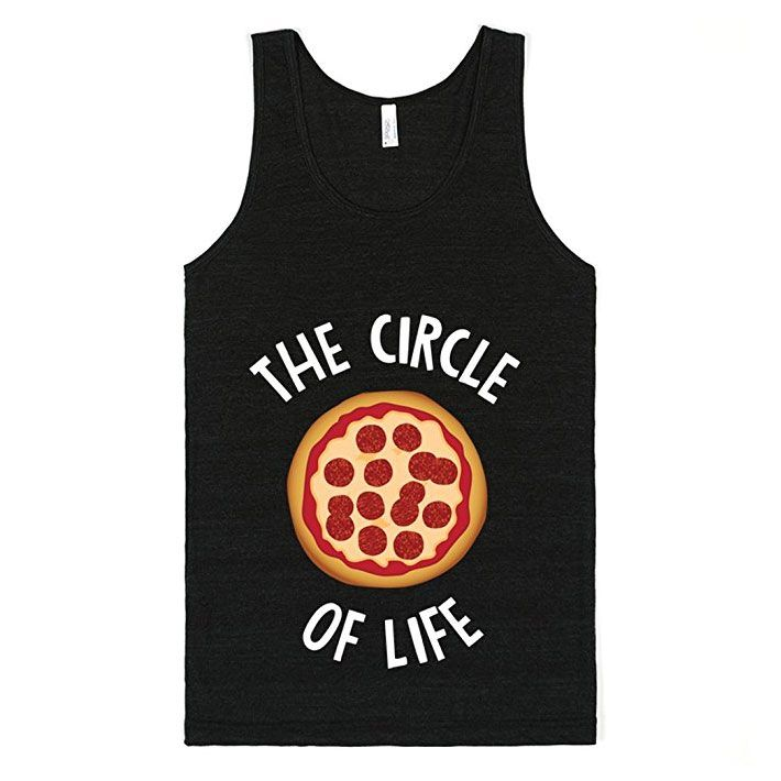 Circle of Life Pizza Tank Top T-Shirt