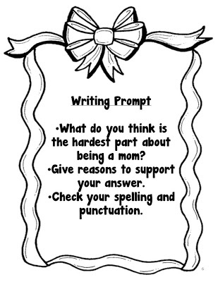 Mothers Day Writing Prompts