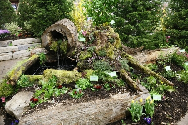 The 382 best Gardens: Water features & Fountains images on Pinterest ...