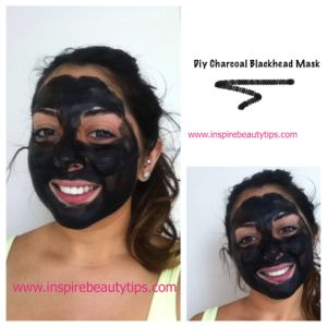 diy charcoal blackhead mask beauty tipps beauty und tipps. Black Bedroom Furniture Sets. Home Design Ideas