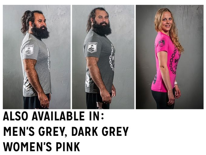 The WOD shirt combats problems with typical training shirts with its innovative and comfy fabric blend.