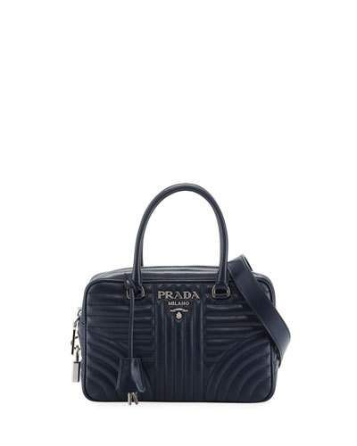 72f09e4f299 PRADA IMPUNTURE QUILTED ZIP TOP DUFFLE BAG.  prada  bags  shoulder bags   hand bags  leather  lining