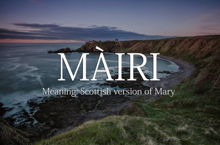 18 Magical Scottish Baby Names That Will Make You Want To Have Children  – Namen (#Story)♧