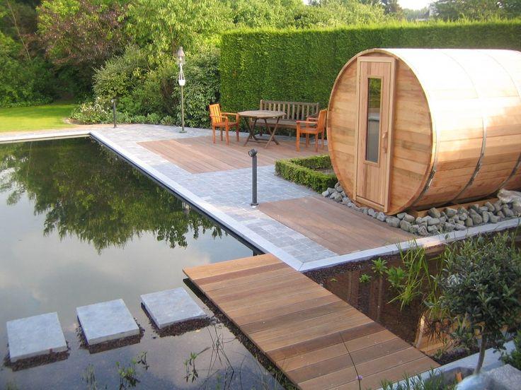De outdoor sauna zwembaden valkenborgh