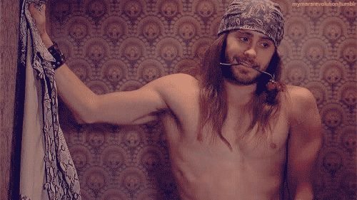 SEXY MALE ARMPITS!: 16 PICS! Jared Leto again! He is just so SMEXY! Yummm! Rate his pits from 1-10! SHARE and LIKE!!!