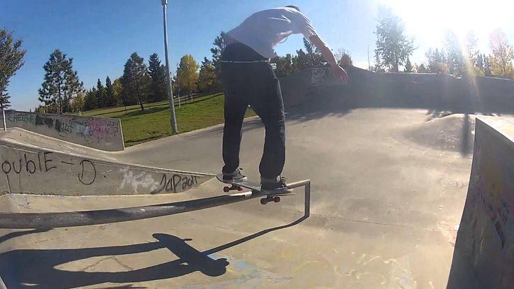 Seb @ CastleDowns Skatepark