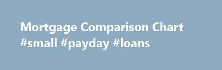 """Mortgage Comparison Chart #small #payday #loans http://loan.remmont.com/mortgage-comparison-chart-small-payday-loans/  #home loans comparison # WHAT PEOPLE ARE SAYING Home Loan was started to help our customers achieve their goals, and we're proud of our track record. But don't take our word for it. Here's what some of our customers have to say: """"Working with Mario [Loan Originator] at Home Loan Investment Bank made the often…The post Mortgage Comparison Chart #small #payday #loans appeared…"""