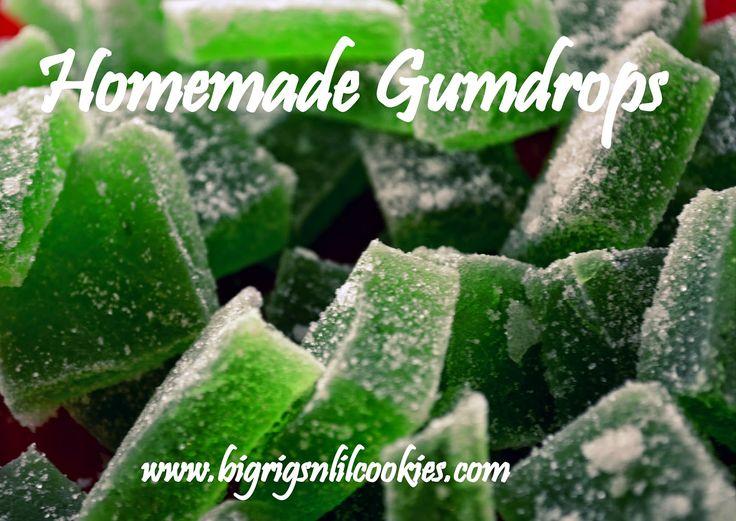 Big Rigs 'n Lil' Cookies: Homemade Gumdrops